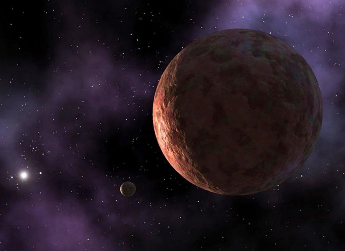 Карликовая планета Седна скрывается во внешней Солнечной системе