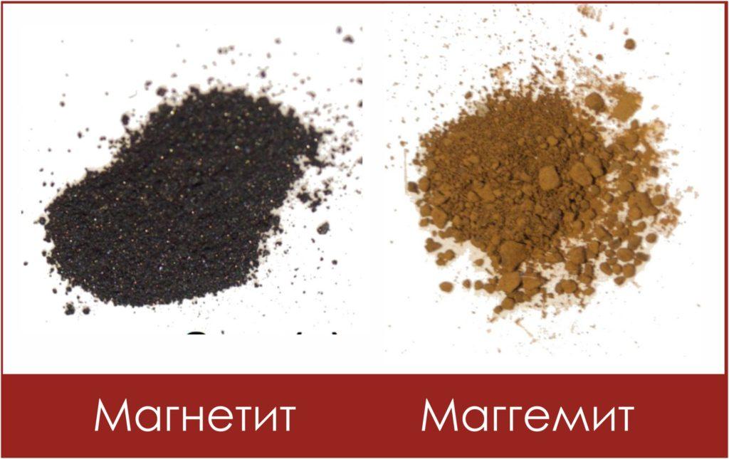 Магнетит и маггемит