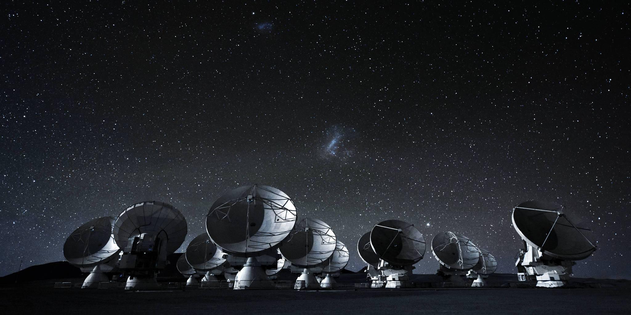 Телескопы SETI